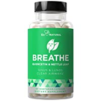 BREATHE Sinus & Lungs Breathing – Seasonal Nasal Health, Immune Support, Open &...