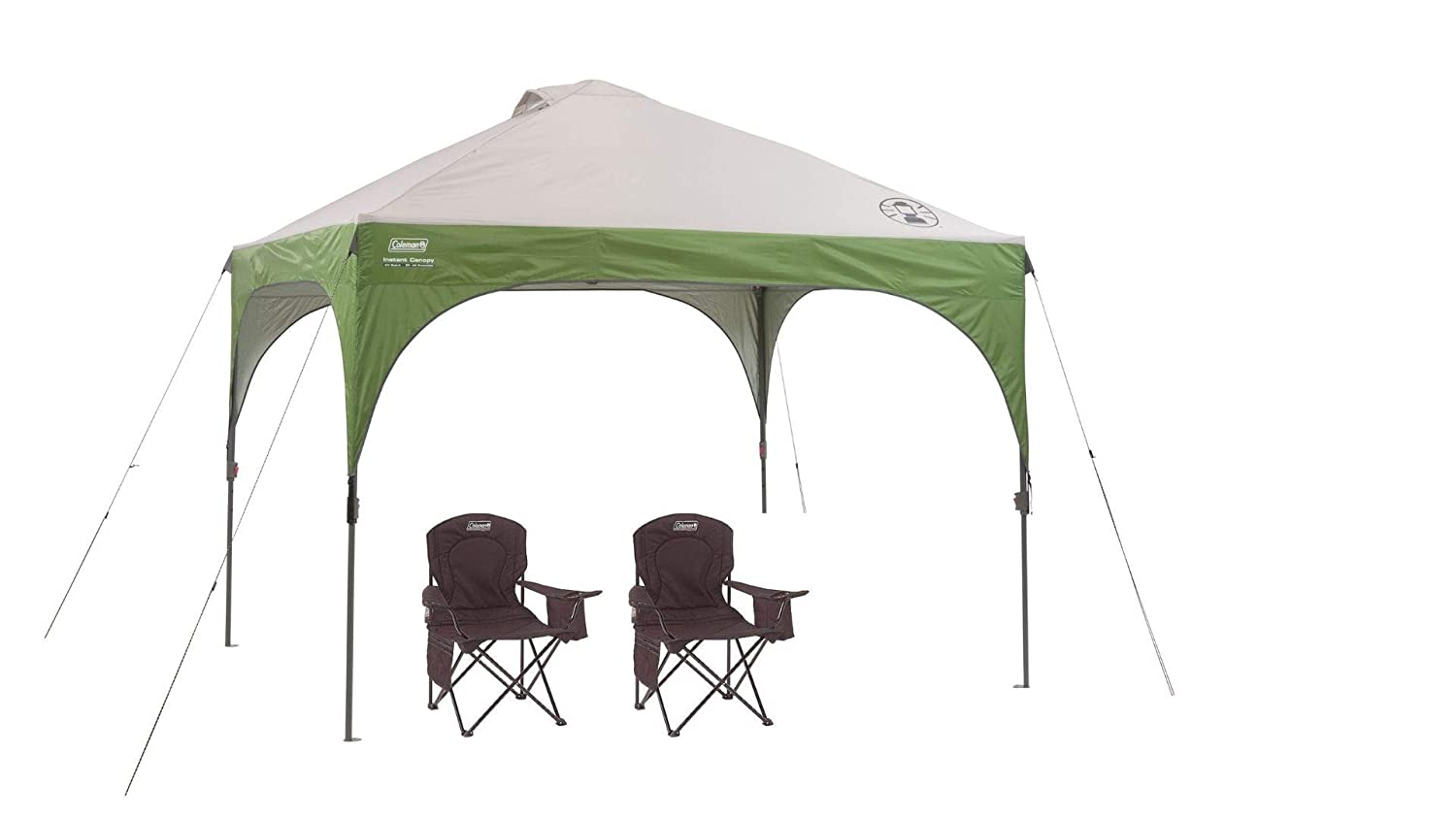 sneakers for cheap be2cb f8cb2 Coleman Instant Canopy Sun Shade Tent with 3 Minute Setup + ...