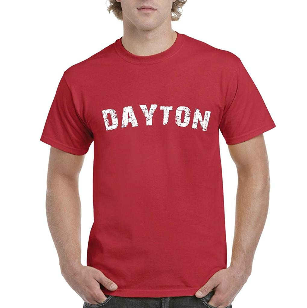 Amazon Artix Dayton Ohio Love Home State Mens T Shirt Tee Xx