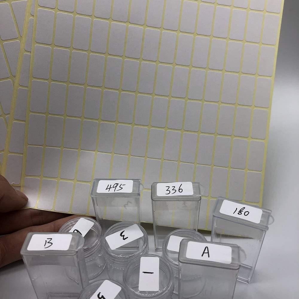 15 Fogli di Etichette adesive autoadesive per Pittura a Diamante bigdispawl