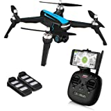 HELIFAR B3 GPS Drone, 5G Wifi FPV Drone with Camera Live Video 1080P HD, Brushless Motor, Follow Me Mode, GPS Return Home Quadcopter Drone for Adults, Beginners, Intelligent Battery Long Control Range