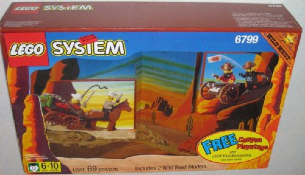 Lego 6799 Wild West Showdown Canyon
