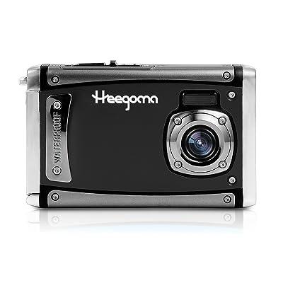 "Heegomn Ditigal Camera Ultra HD 21MP Waterproof Camera 2.4"" LCD Screen Underwater Video Camera"