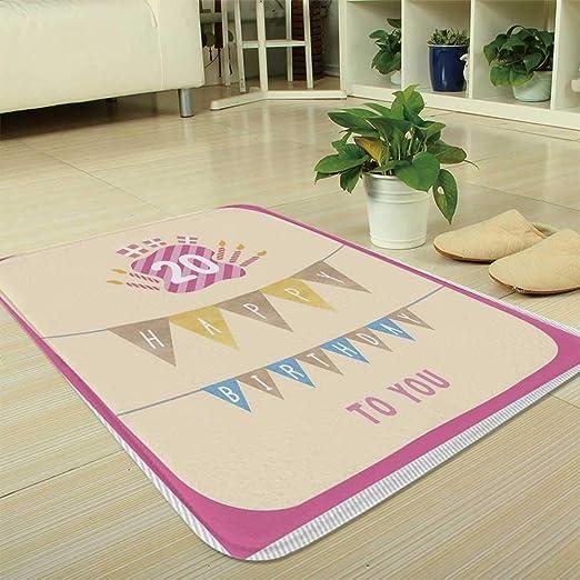 YOLIYANA tapete ultrasuave, decoración de Primer cumpleaños ...
