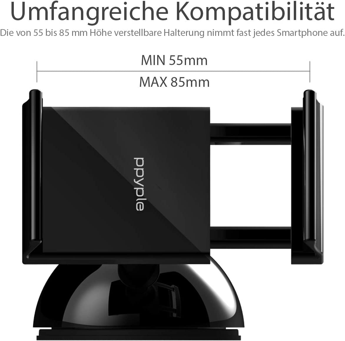 Original Ppyple Dash N5 Universale Kfz Handyhalterung Elektronik
