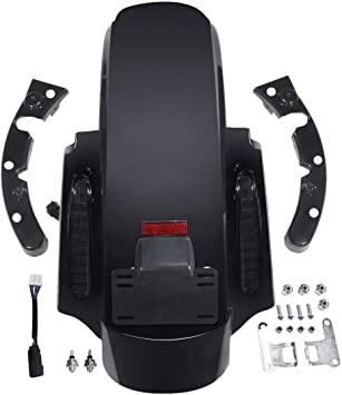 XMT-MOTO CVO Style Rear Fender System fits for Harley Davidson Touring models 2014-later