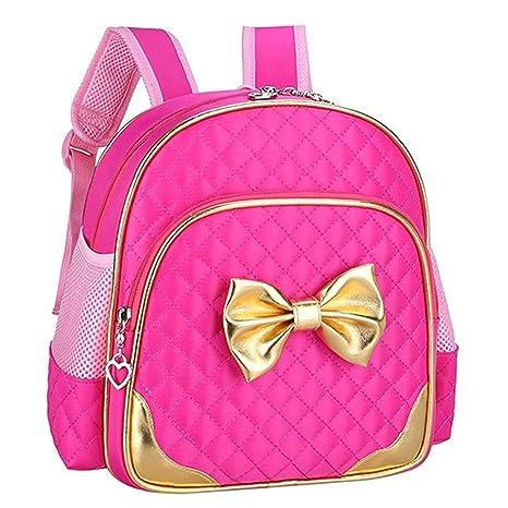3c5b4c186a9c Cute Durable Toddler Backpack for Preschool Kindergarten Little Girl Kids  (Cute Backpack for Toddler(2-5 year) Girls, Gold-Rose)