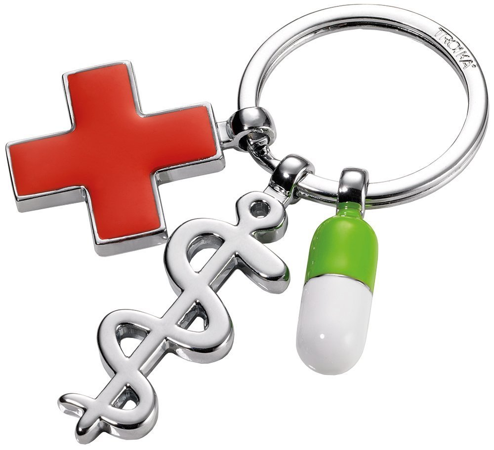 Amazon.com : Troika Keyring, Get Well (KR1408CH) : Office ...