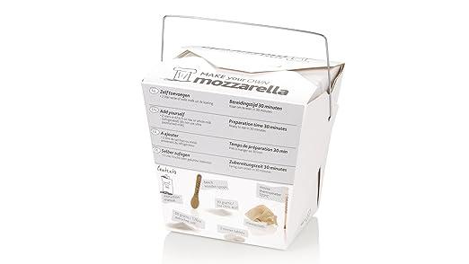 Queso Hazlo Tú Mismo Set | Mozzarella | Queso Set de regalo para ...