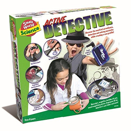 Boys Girls Children Kids Solve The Mystery Be An Active Detective - Latest Secret Agent - Birthday Christmas Gift Present Spy Games & Toys Idea Age 8+ Pretend Play Activity Set Imagine Toys