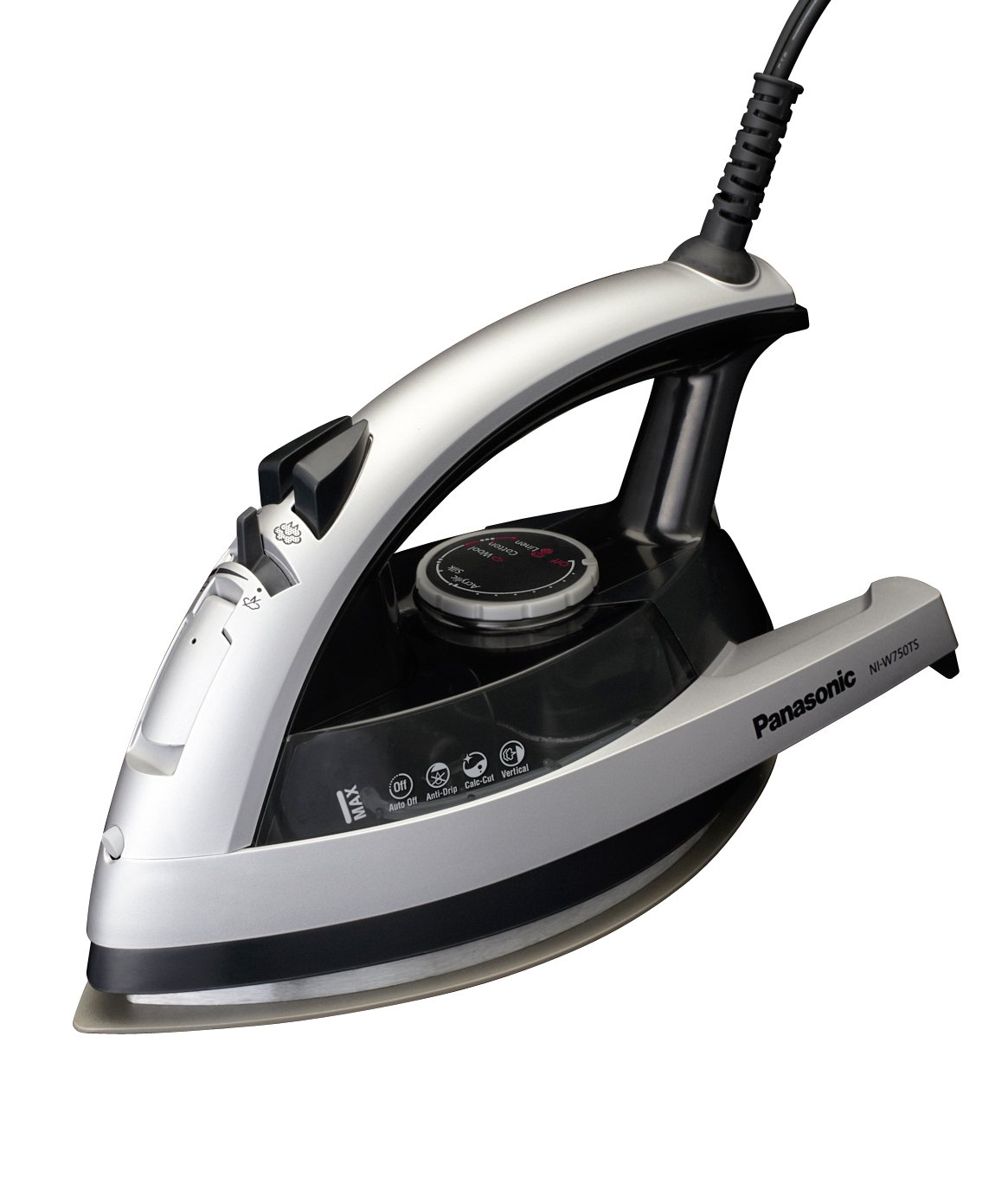 Panasonic NI-W750TS 360-Degree Quick Multi-Directional Steam Iron, Silver and Black Pan Stanford Publishing