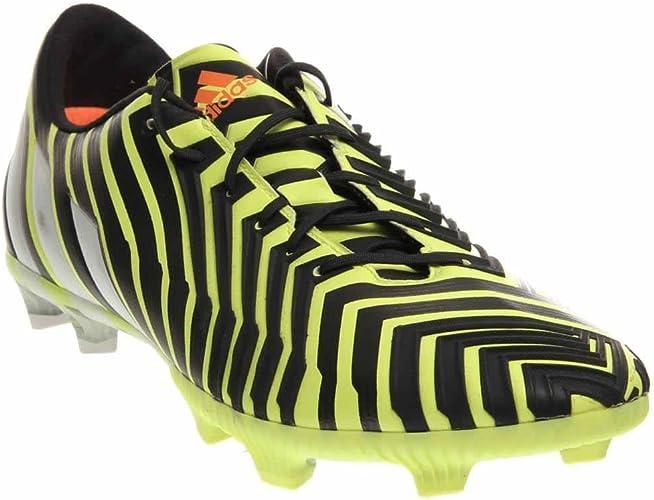 Adidas Predator Instinct FG Soccer Cleat (Light Flash Yellow, Dark Gray)