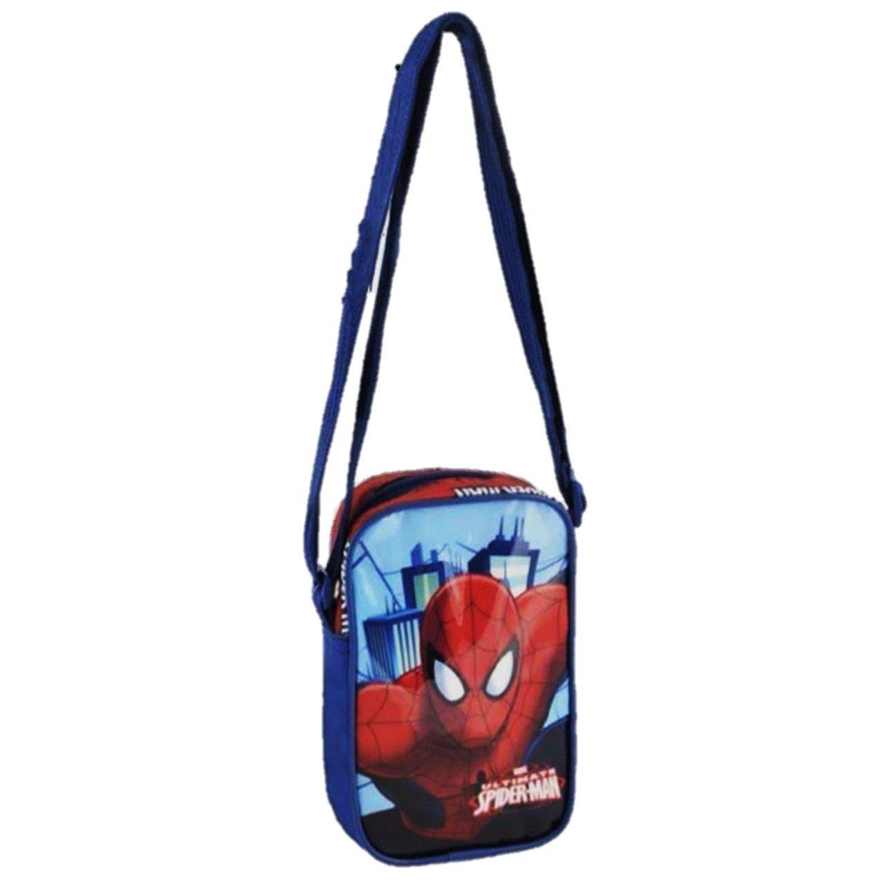 Borsa tracolla Bambino Spider-man colore Blu Originale cod: M 87153
