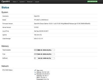 Amazon com: FidgetGear TP Link TL-WR703N LEDE OpenWrt DD-wrt