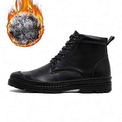 2fb3f591d9764 Amazon.com: Mens Backpacking Boots Men Boots Plush Warm Furry Winter ...