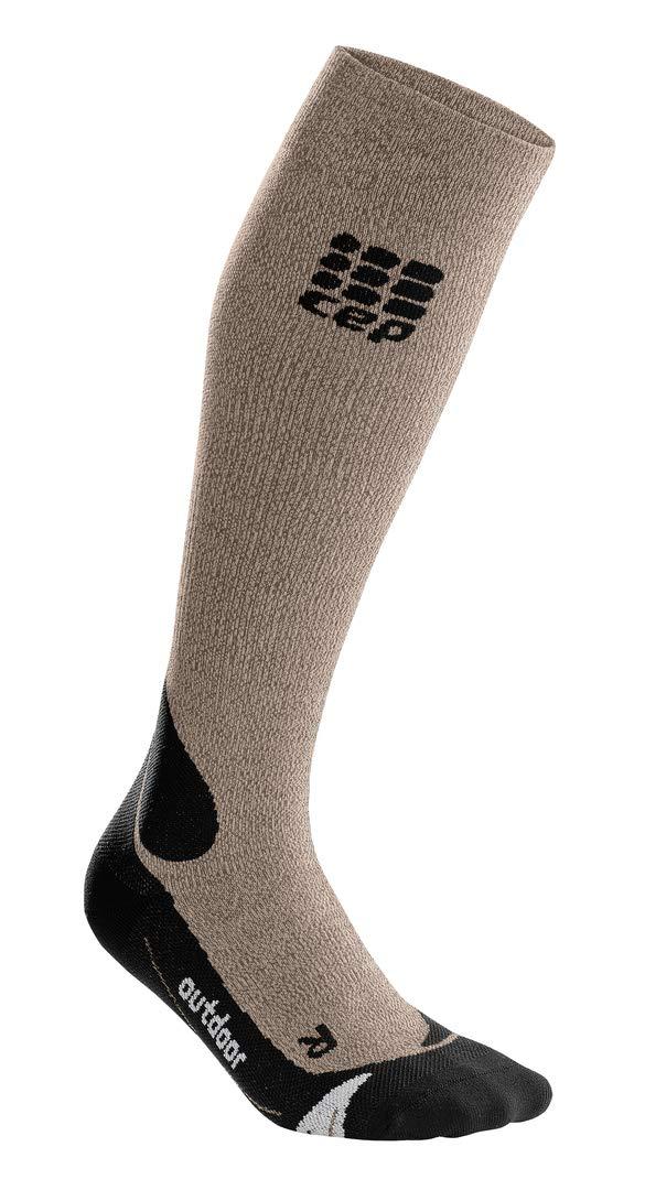 8af4731854554 Amazon.com: Men's Long Compression Wool Socks - CEP Outdoor Merino Socks  for Hiking: Clothing