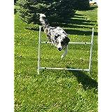 Dog Agility Equipment Single Bar Jumps | Set of 2 jumps