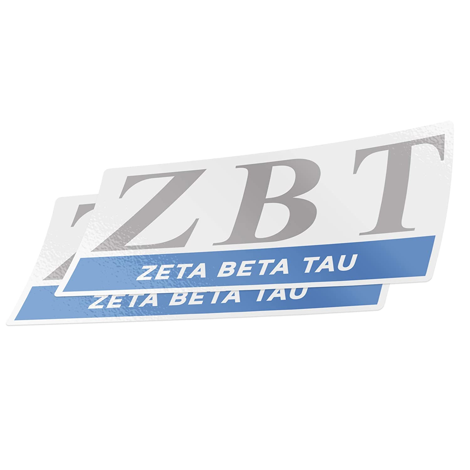 Desert Cactus Zeta Beta Tau 2-Pack Color Letter//Name Sticker Decal Greek for Window Laptop Computer Car ZBT Color//Letter Name Sticker