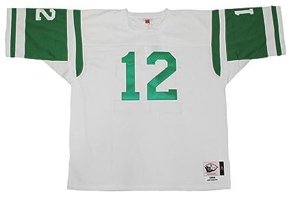Mitchell   Ness New York Jets 1968 Joe Namath Authentic Throwback White  Jersey Size 60 1fe03c71f