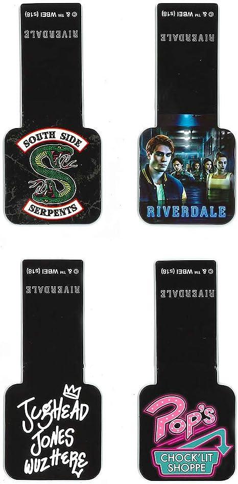 Ata-Boy Riverdale - Juego de 4 marcadores magnéticos de 1