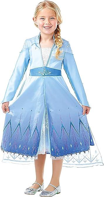Frozen 2 Premium Disfraz Elsa Travel, M, Multicolor, (RubieS ...