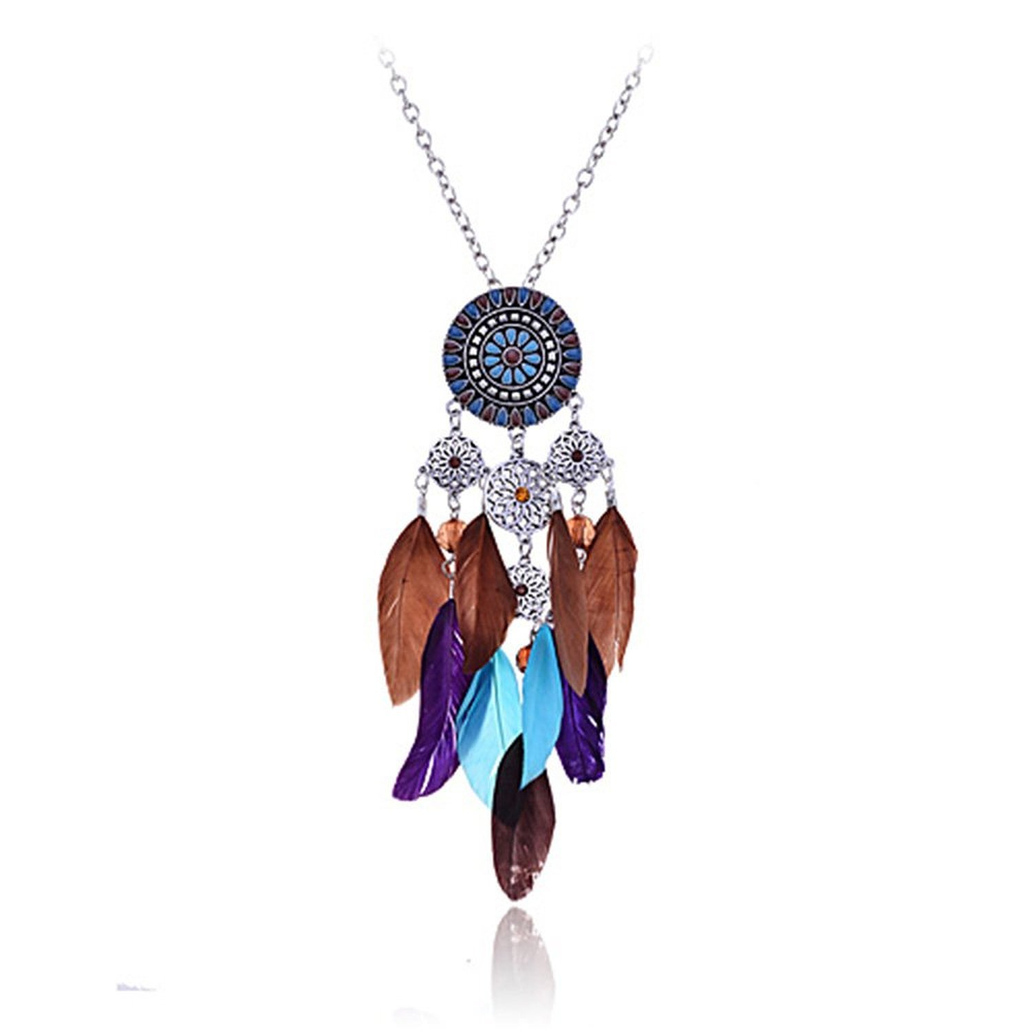 s american feather products cammieshomestore store handmade cammie necklace watchesethnic jewelry americansets amethyst native silver tribalnative home regional