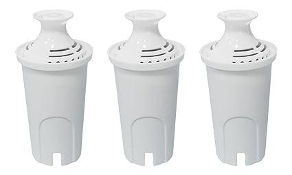 PureGreen filtros de repuesto para Brita lanzadores y dispensador de agua del grifo, de agua