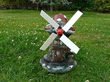 Delicieux Windmill Blades For Concrete Garden Ornament Windmill 12
