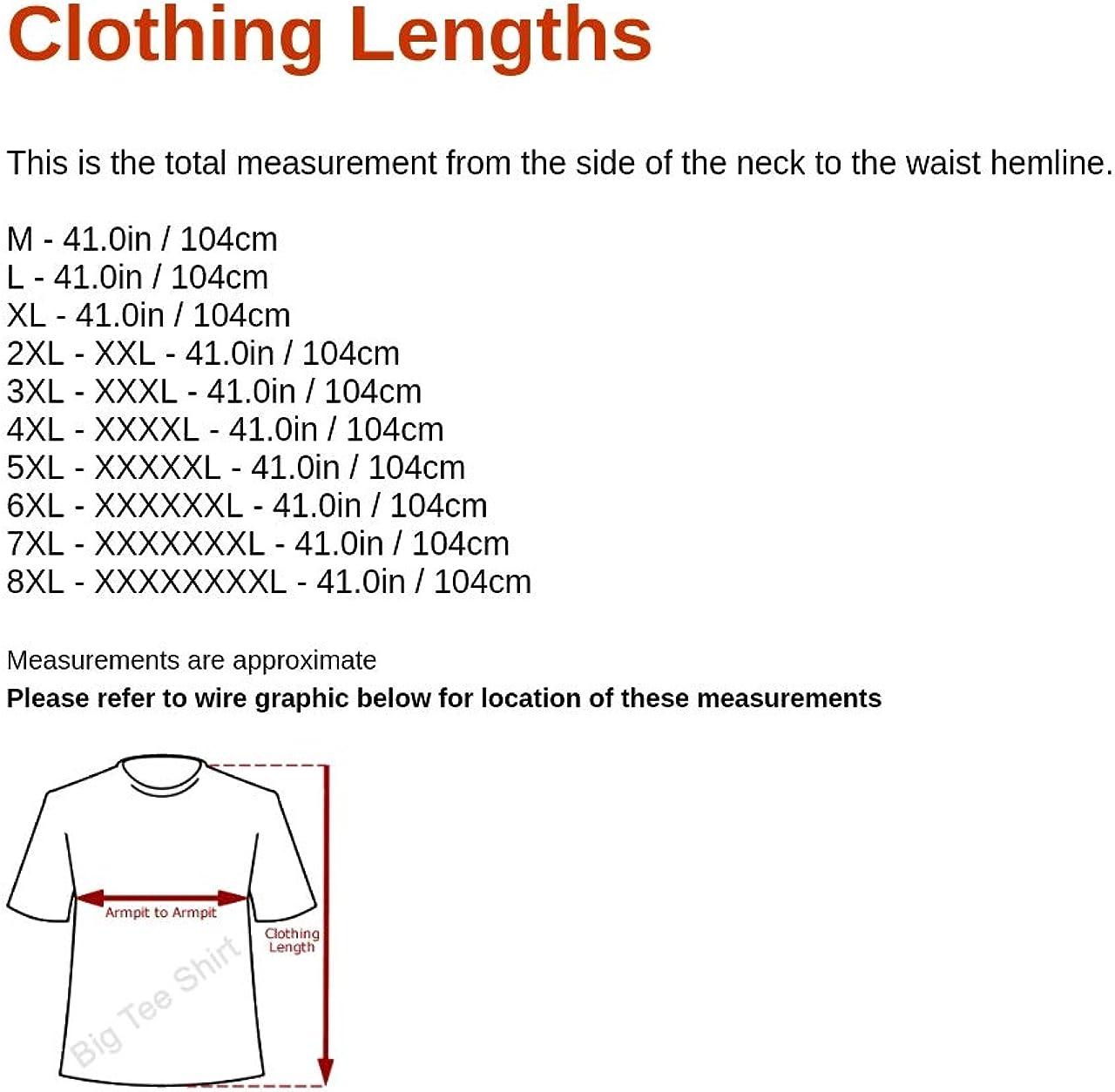 Big Tee Shirt Big Mens Sheepy Nightshirt Large Man Sizes Many Colours L XL 2XL 3XL 4XL 5XL 6XL 7XL 8XL for Big and Tall Men ONLY