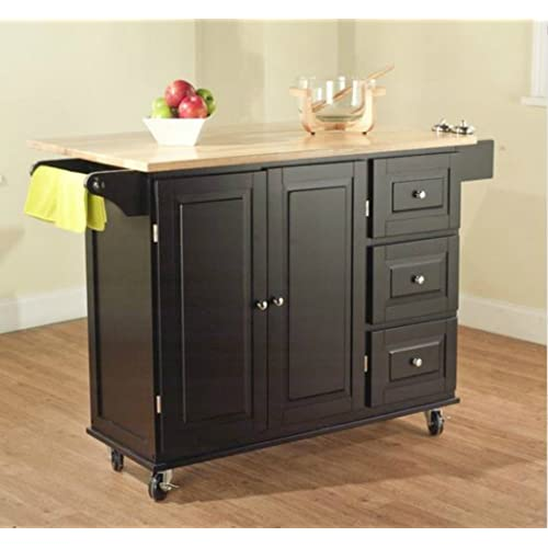 Black Kitchen Units Sale: Small Kitchen Islands: Amazon.com