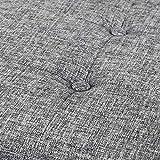 Otto & Ben Top Tufted Folding Tweed Linen Trunk