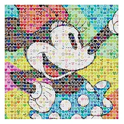 Disney Minnie Mouse Emoji 300 Piece Oversized Jigsaw Puzzle By Ceaco