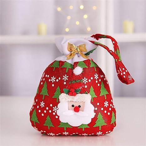 Togames-IT Bolsas de Caramelos para niños de Navidad ...
