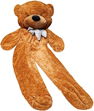 200cm Super Huge Teddy Bear Cover Plush Toy Shell With Zipper Gift Only Cover