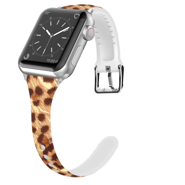 Malla Silicona para Apple Watch (38/40mm) LWSENGME [HRDG5YR]