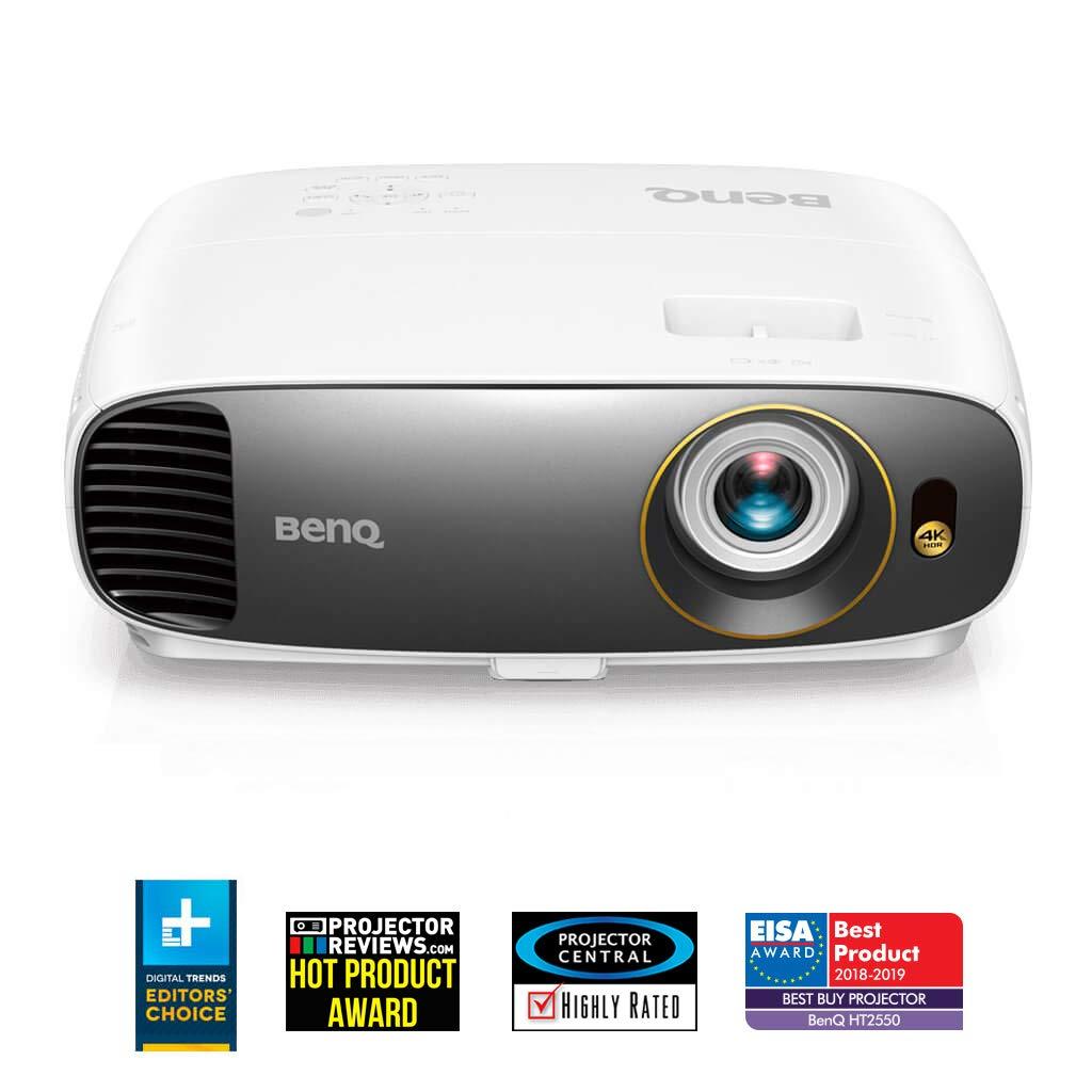 Benq W1700 4 K UHD HDR Home Theater Projector, 8.3 Million Pixels ...