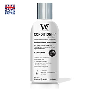 'Condition Me' Cholesterol Conditioner with Caffeine, Rosemary - All Types of Hair & Afro - Watermans Hair Growth Conditioner