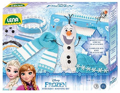 Lena 42005 - Strickset 2-in-1 Disney Frozen, türkis