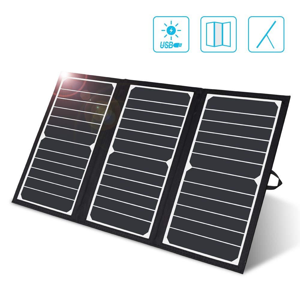 Cargador Solar Portatil de 21 Watts de Salida RENOGY Negro