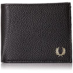 Fred Perry Men's Scotch Grain Zip Around Wallet