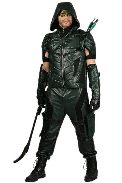 Nexthops Arrow Traje de Lujo Cosplay para Hombres 8 set ...