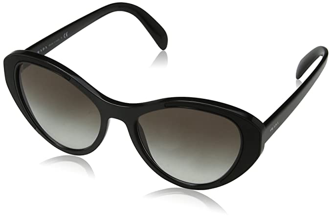 beed9102e8 Ray-Ban Women s 1ab0a7 Sunglasses Black Gradient 55  Amazon.co.uk  Clothing
