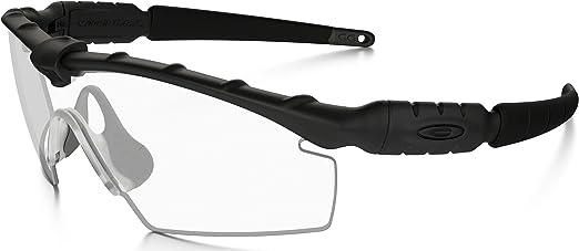 Accor gasping Sud  Amazon.com: Oakley SI BALLISTIC M FRAME 2.0 STRIKE BLACK FRAME / CLEAR LENS  - APEL APPROVED: Clothing