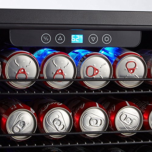 Kalamera 24'' Beverage Refrigerator 175 Can Built-in or Freestanding Single Zone Touch Control by Kalamera (Image #5)