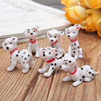 P S Retail Cute Miniature Dog 6 pcs/set (Multicolour)