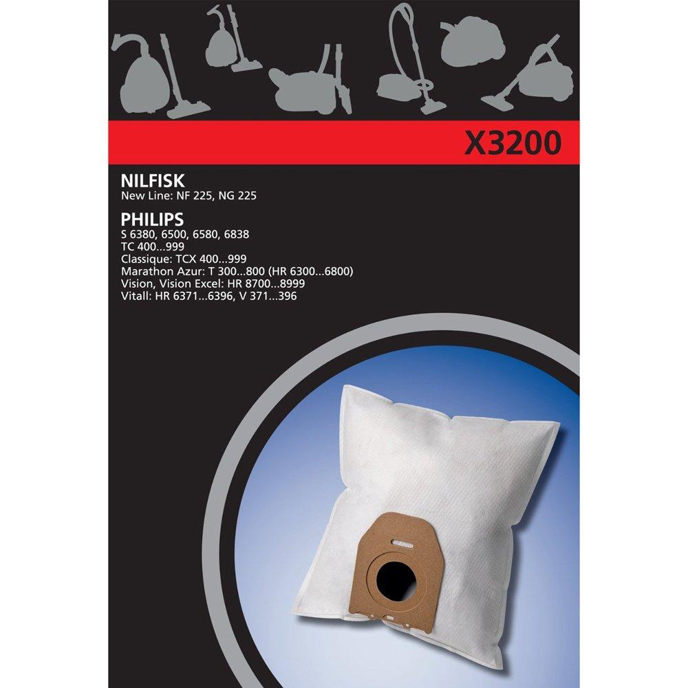 Acquisto Electrolux, X3200, 4 Sacchetti per aspirapolvere, in materiale sintetico, compatibili con Philips Oslo – Vision – Classique Prezzo offerta