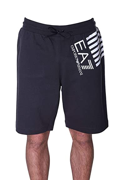 f75f22de0d EMPORIO ARMANI EA7 Train 7 Lines Shorts Men Black Shorts/Bermudas ...