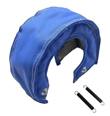Universal Boost Monkey Turbo Charger Heat Blanket Shield T3 T25 T38 T3 T4 T5 T6 T5 // T6, Black