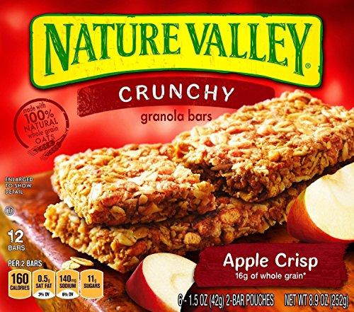 Nature Valley Apple Crisp - Nature Valley Apple Crisp Granola Bar 12 Bars 8.9 Oz (2 Pack)