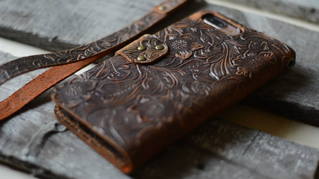 handmade Genuine Leather case for iphone 7 plus /8 plus leather case for iphone 7 plus leather wallet for iphone 8 plus